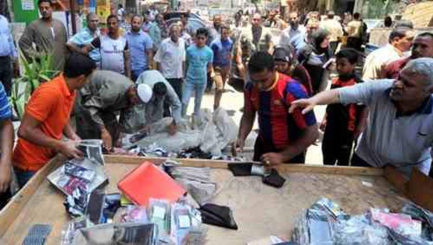 بدء إزالة الباعة الجائلين من شوارع القاهرة